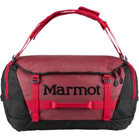 Marmot Long Hauler Duffel - Sac de voyage - Large rouge/noir